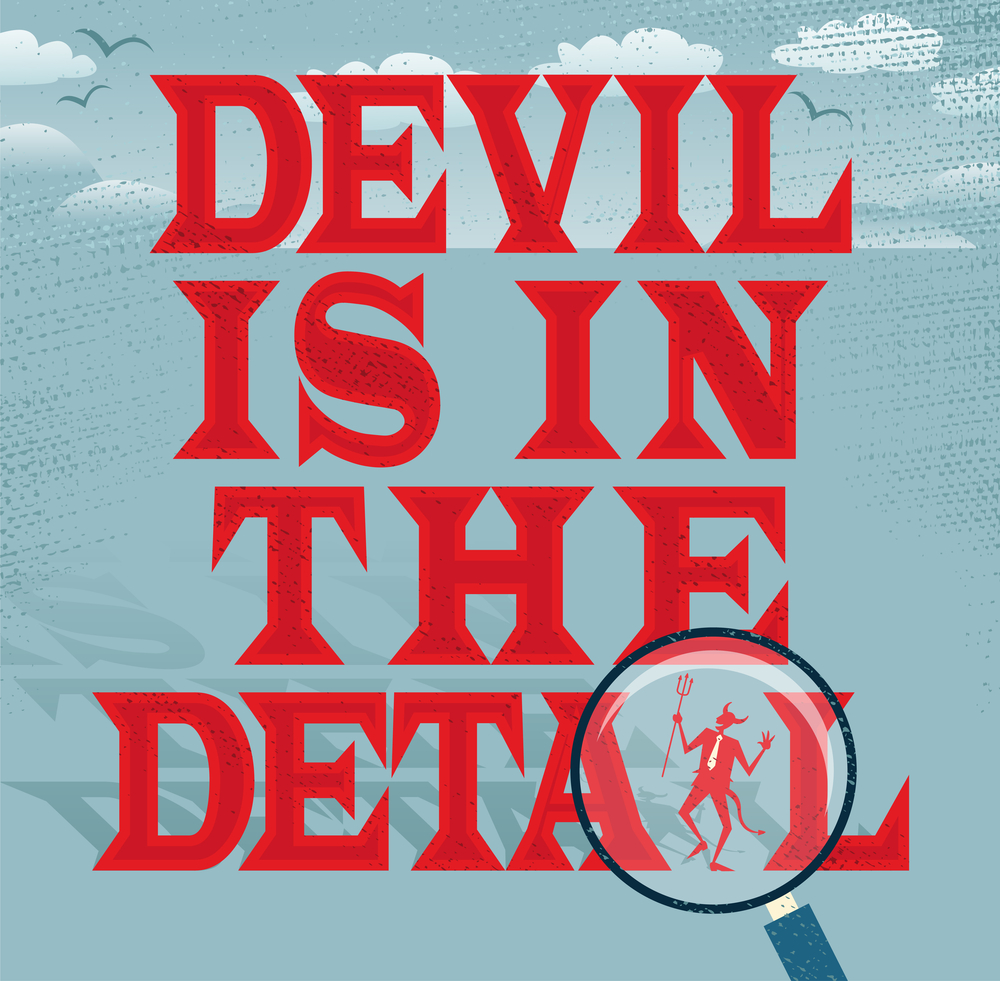 The Devil In The Detail